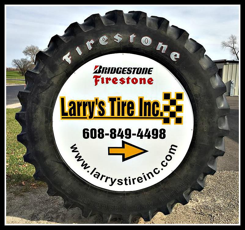 Larrys Tire Inc, Store Sign