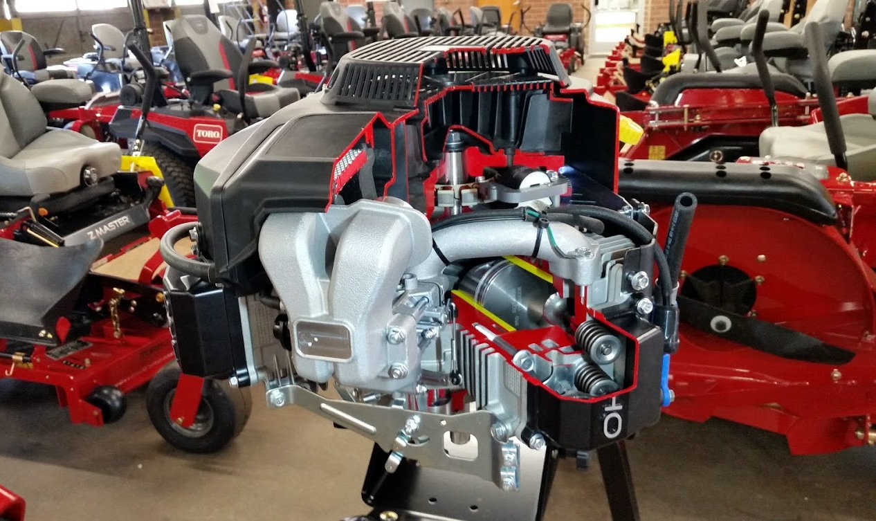 TORO V-Twin Engine