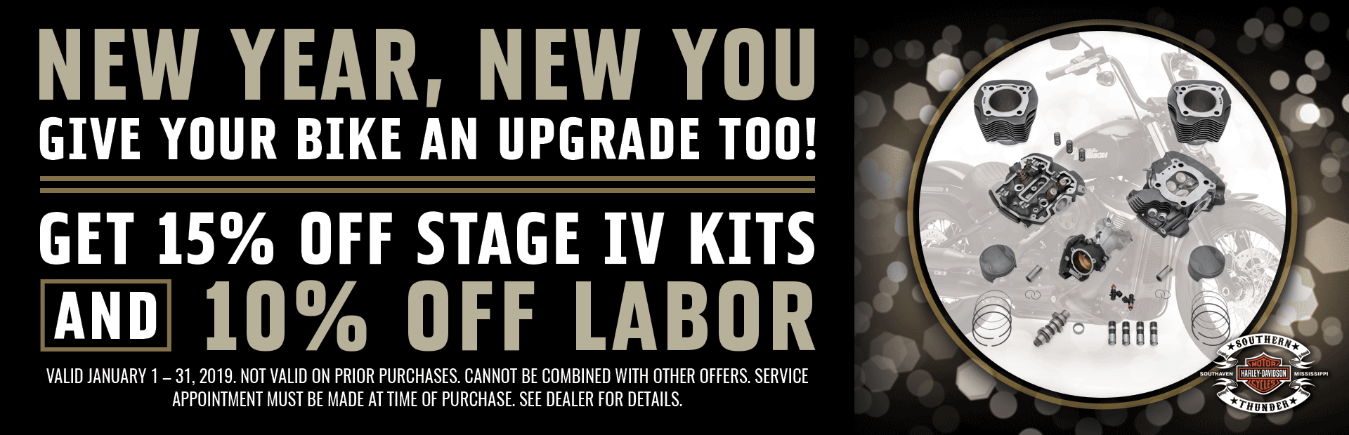 15% off Stage IV Kits