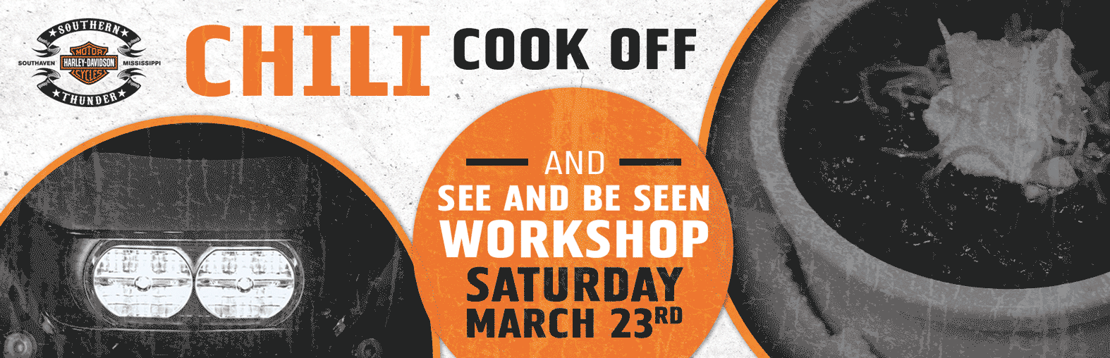 Chili Cook Off & See And Be Seen Workshop