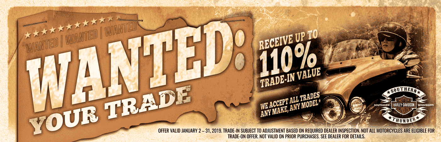 Wanted: Your Trade