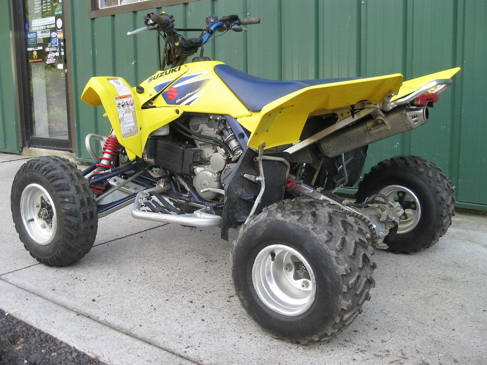 2007 Suzuki LTR 450 VERY FAST MACHINE THAT INCLUDES FULL ALUMINUM ...