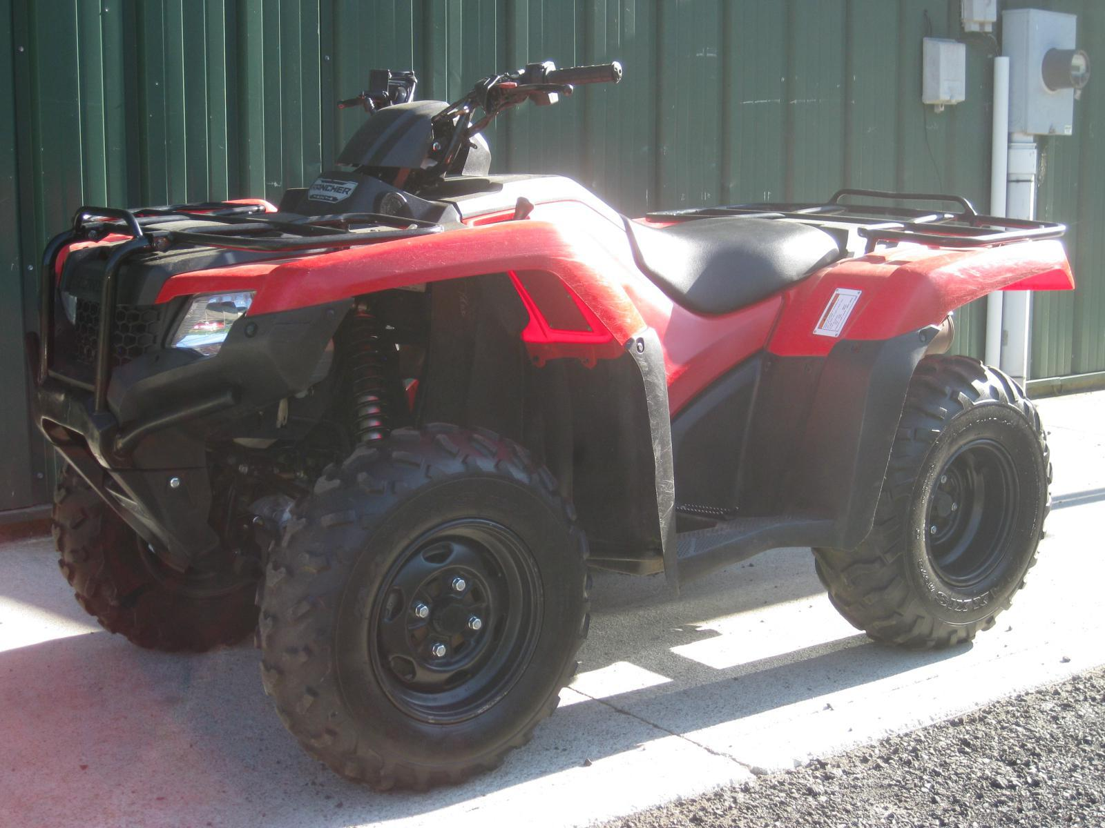 2016 Honda Rancher 420 Stock 4x4 With Bumpers Very Clean Turn Key