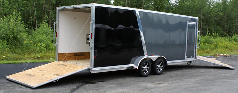 Utility Snowmobile Trailers