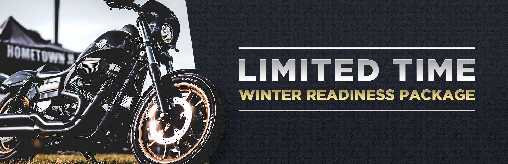 Limited Time Winter Readiness Package: Contact us for details.