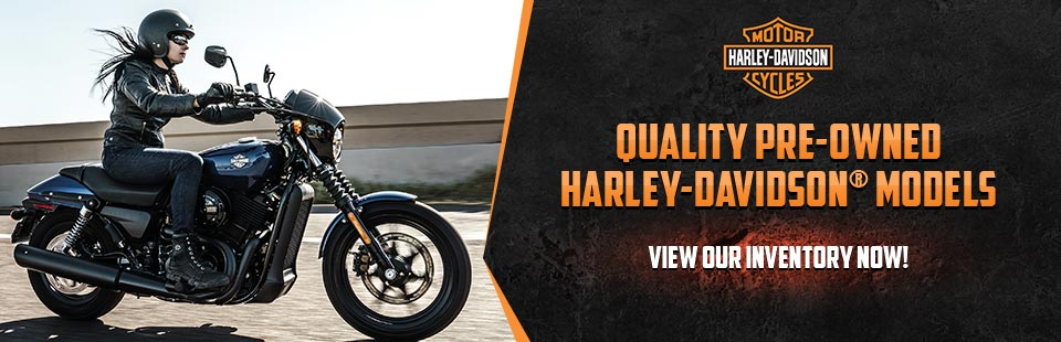 Quality Pre-Owned Harley-Davidson® Models: View our inventory now!