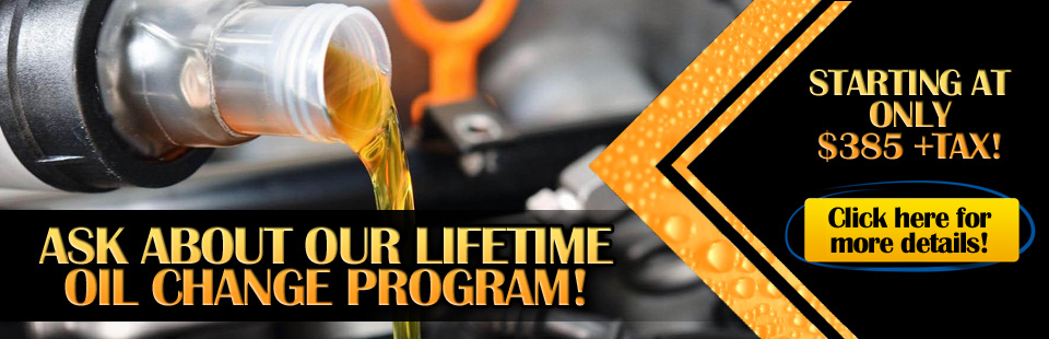 Lifetime Oil Change Program