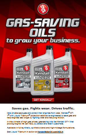 Gas-saving oils to grow your business.