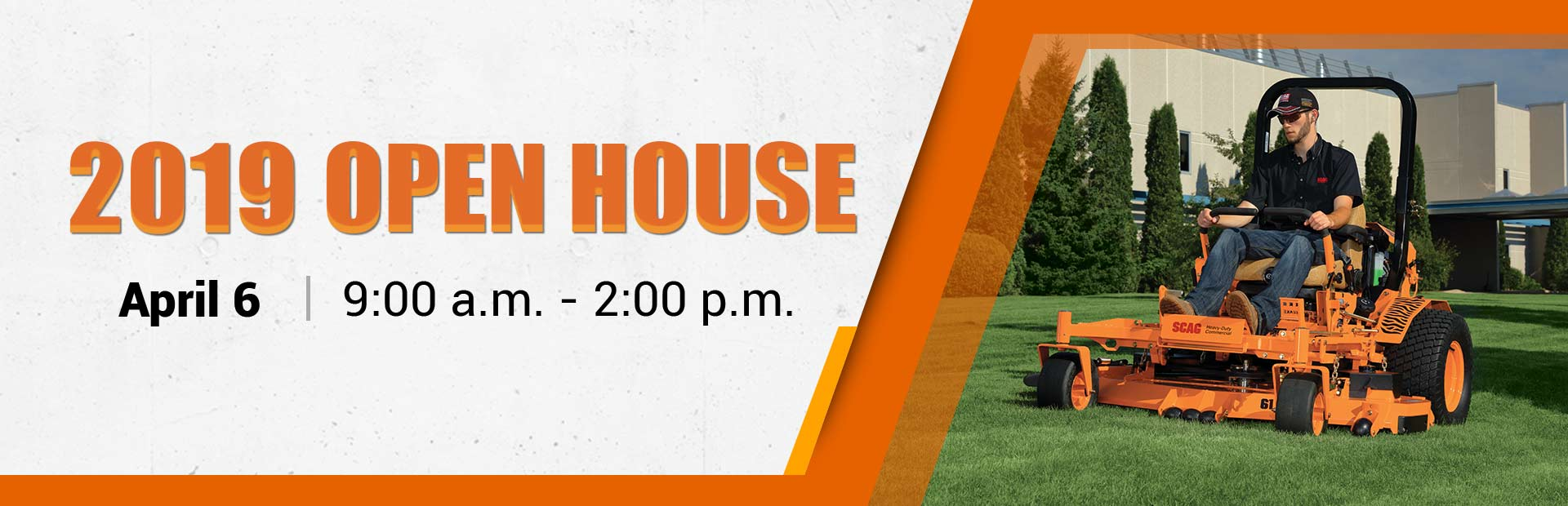 Join us April 6 for our 2019 Open House!