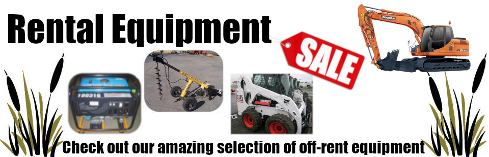 Rental Equipment Sale