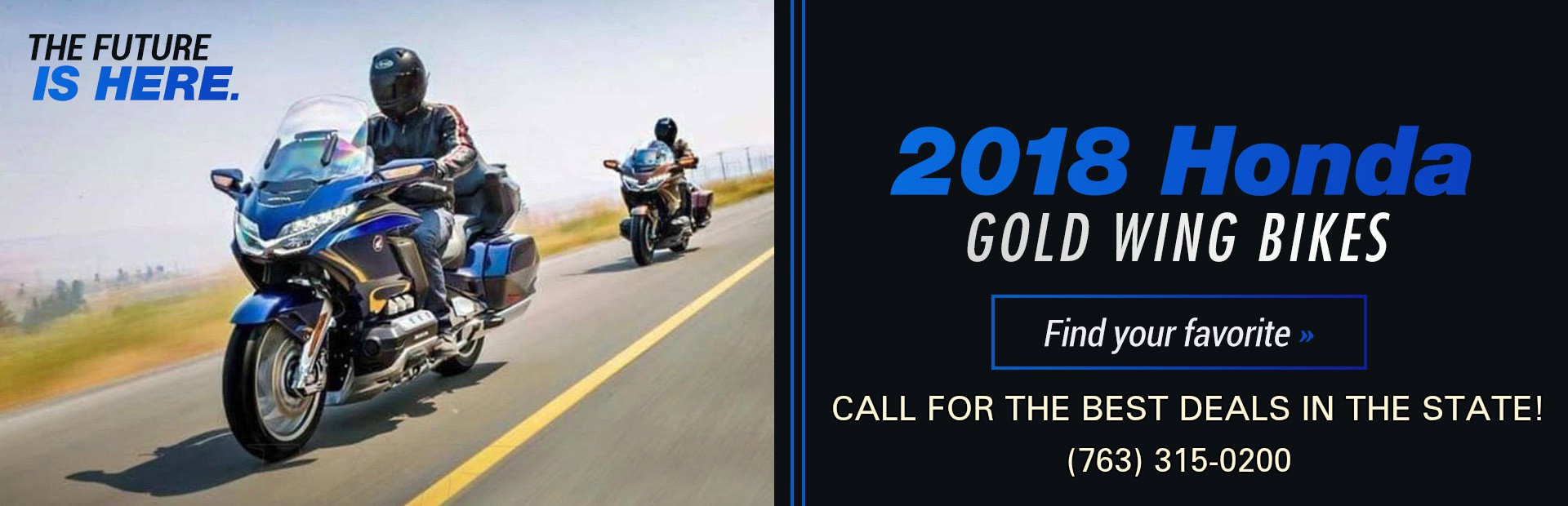 2018 Honda Gold Wing Bikes: Click here to view the models.