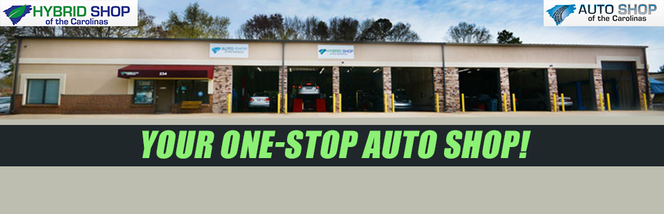 We are your one-stop auto shop!