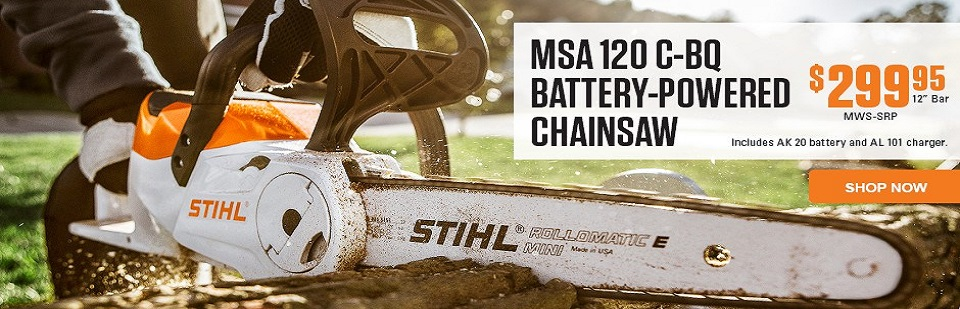 Stihl Battery Power Chainsaw Special