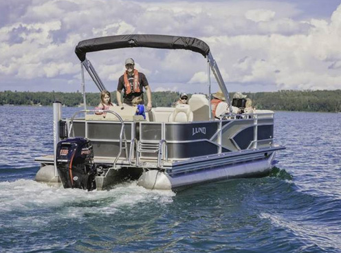 Lund LX 240 Pontoon Boats