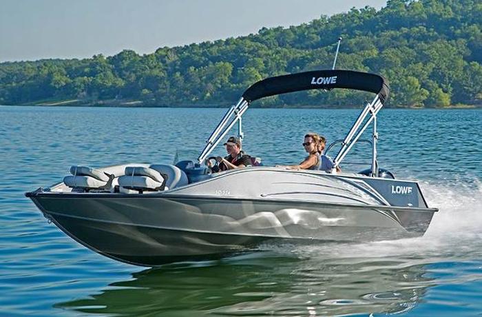 Lowe Deck Boats