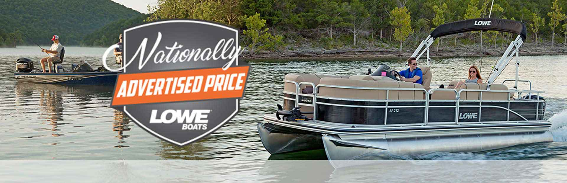 Lowe Boats & Pontoons Nationally Advertised Prices
