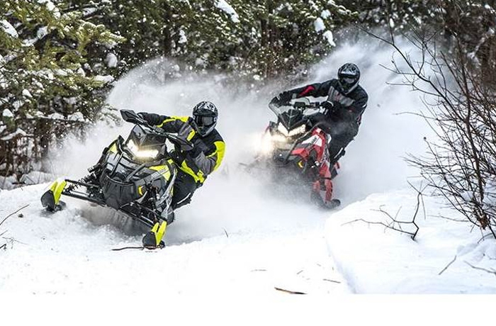 Polaris RUSH Snowmobiles