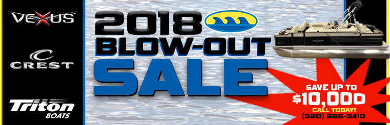 2018 BLOW OUT SALE