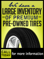 Pre-Owned Tires