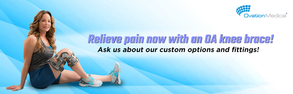 Relieve Pain with an OA Knee Brace