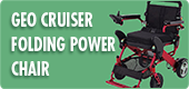 Geo Cruiser Folding Power Chair