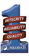 Aquatech #1 in Integrity, Reliability, and Quality