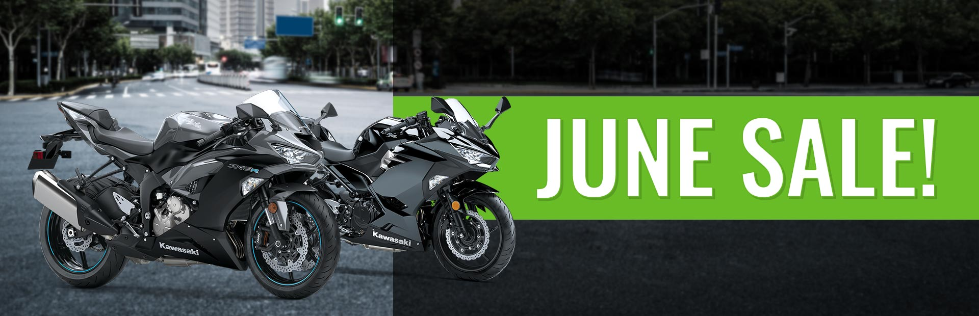 June Sale! Come a check out our exclusive sales for June!