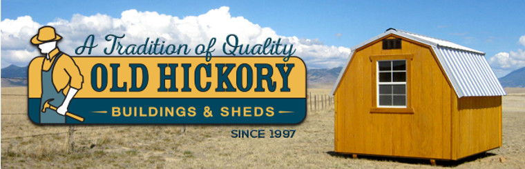 Old Hickory Buildings & Sheds of Canada