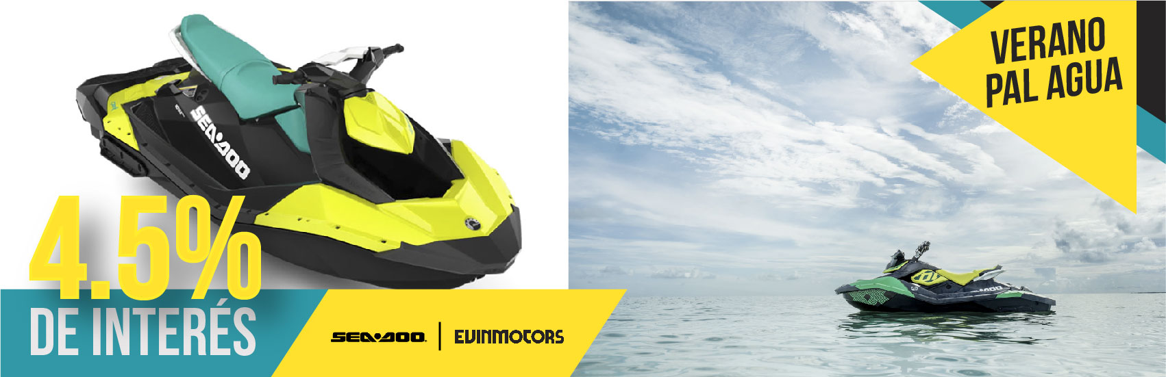 Sea-Doo Financiado