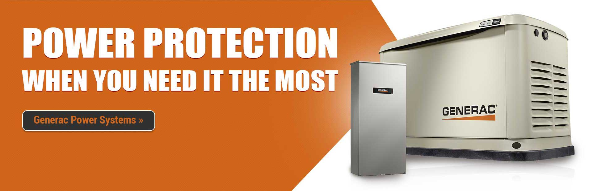 Generac Power Systems: Power Protection When You Need It the Most