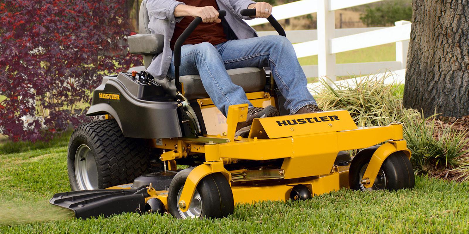 Cover for hustler mowers