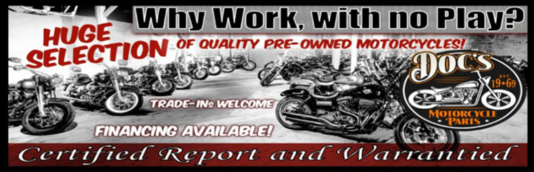 Huge Selection of Quality Pre-Owned Motorcycles
