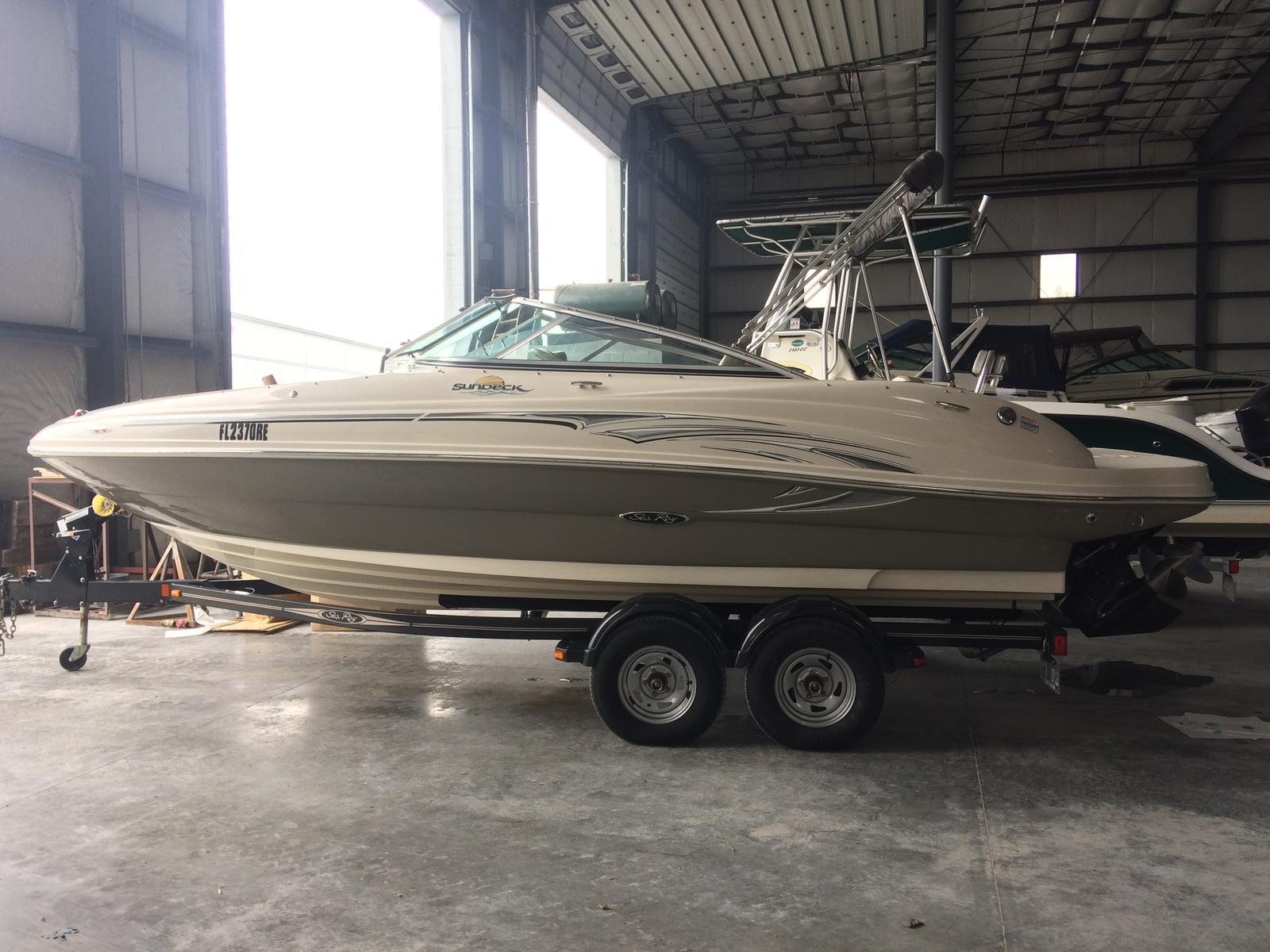 For Sale: 2005 Sea Ray 200 Sundeck 21ft<br/>Hutchinson's Boat Works