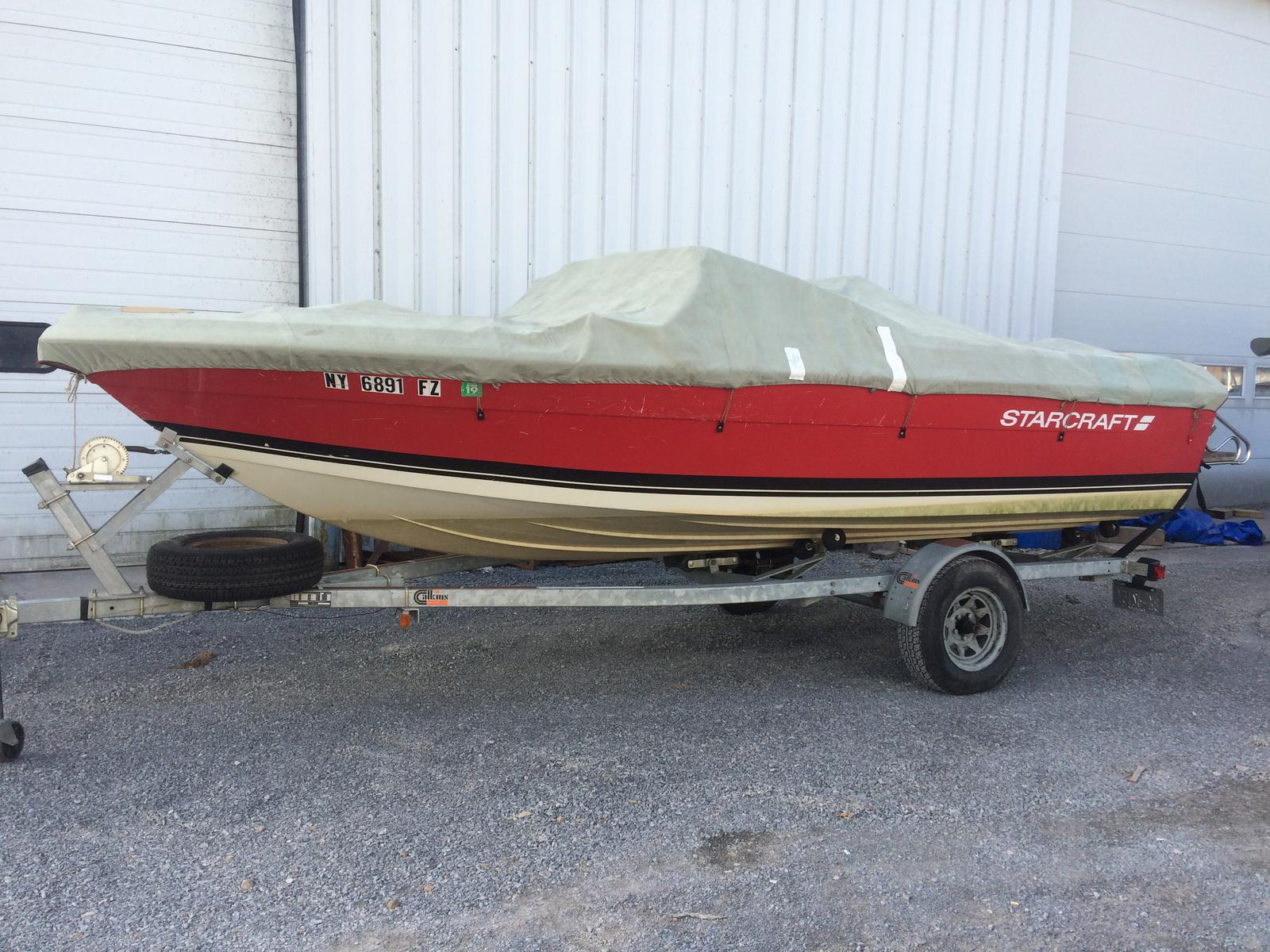 For Sale: 1987 Starcraft 1900 Medalist 19ft<br/>Hutchinson's Boat Works