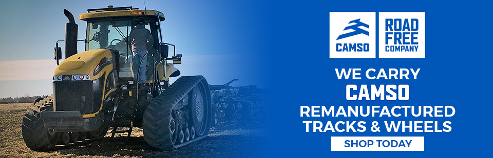 Camso Remanufactured Tracks & Wheels