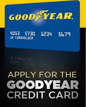 Apply for the Goodyear credit card.