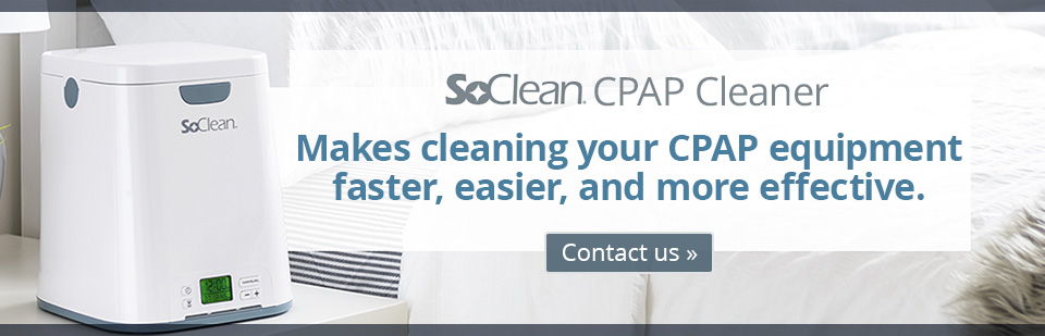 SoClean CPAP Cleaner: Makes cleaning your CPAP equipment faster, easier, and more effective.