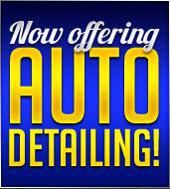 We now offer auto detailing!