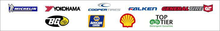 We carry products from Michelin®, Yokohama, Cooper, Falken, General, BG, Shell, and Top Tier. We are a NAPA AutoCare Center.