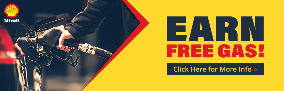 Earn free gas! Click here for more info.