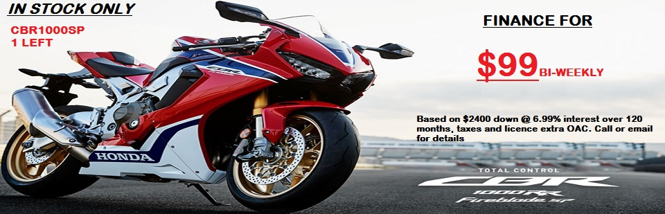 SPECIAL FINANCE OFFER 1000SP