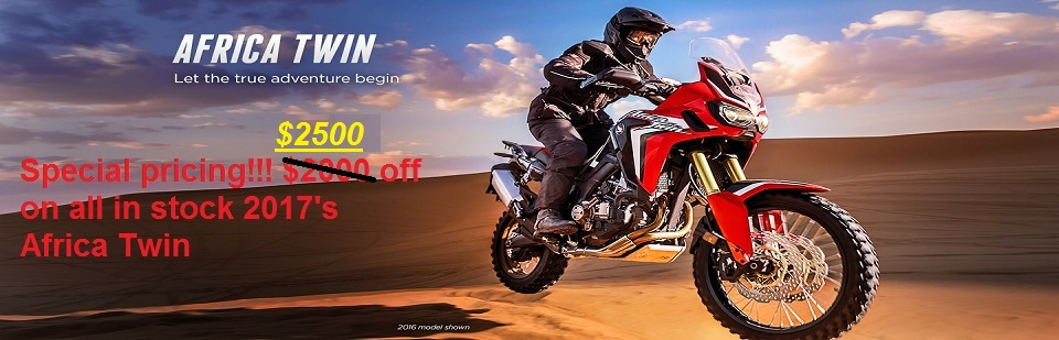 AFRICA TWIN SALE 2