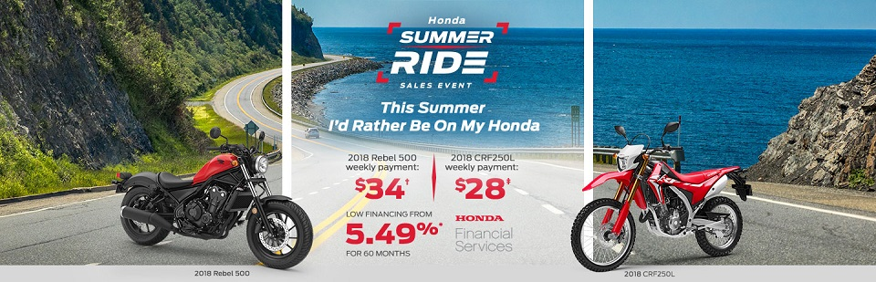 Summer ride event