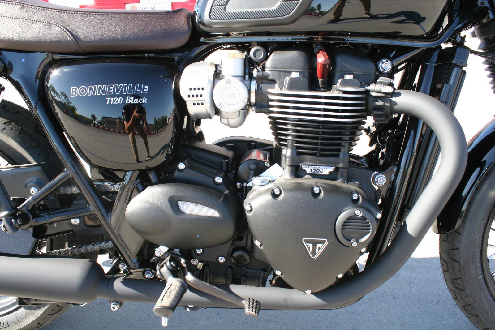 2019 Triumph Bonneville T120 Black For Sale In Scottsdale Az