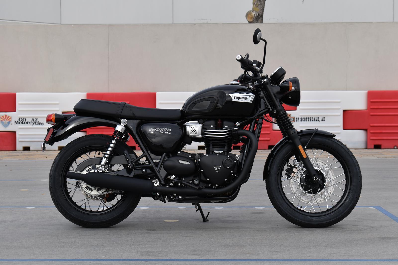2020 Triumph Bonneville T100 Black For Sale In Scottsdale Az Go Az Motorcycles In Scottsdale 480 609 1800