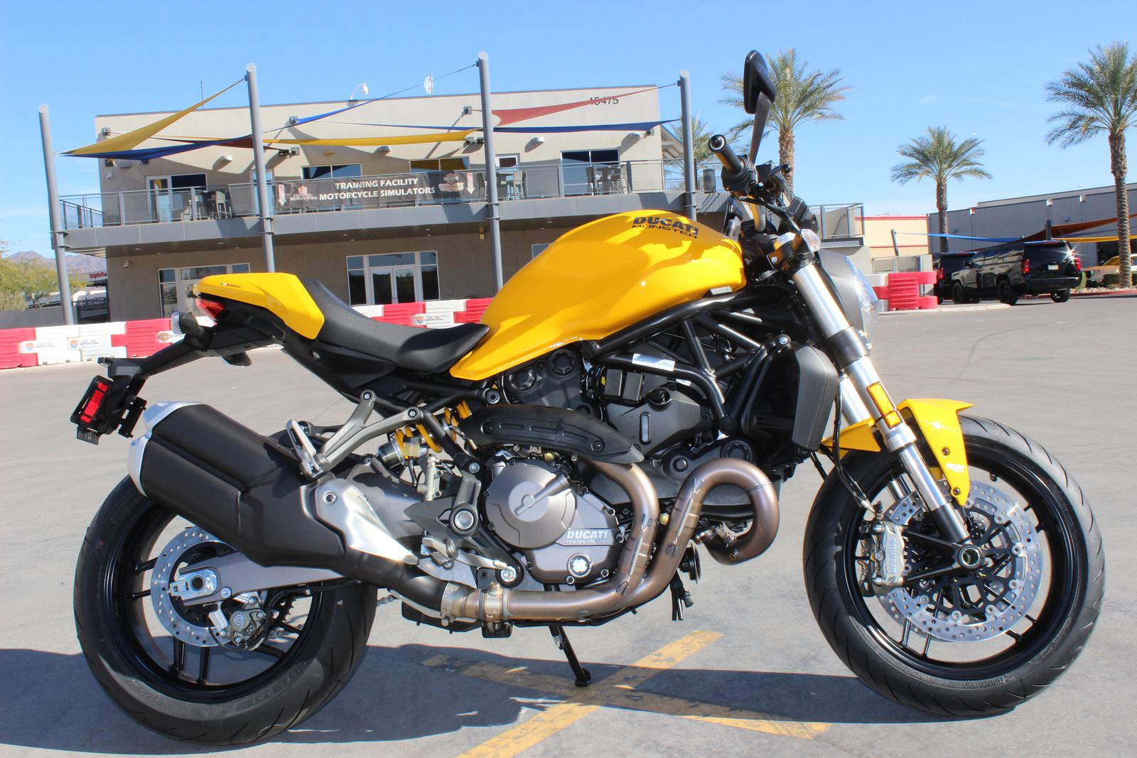 Ducati Monster 821 >> 2018 Ducati Monster 821 Ducati Yellow Up To 750 In Free