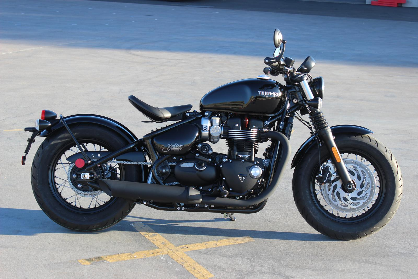 2018 Triumph Bonneville Bobber Black For Sale In Scottsdale Az Go