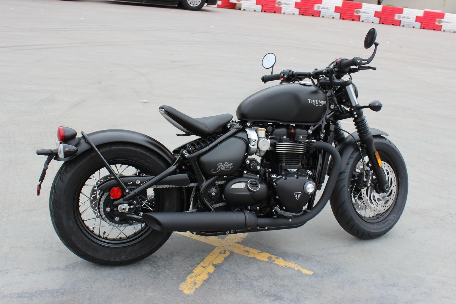 c36052407 2019 Triumph BONNEVILLE BOBBER BLACK for sale in Scottsdale
