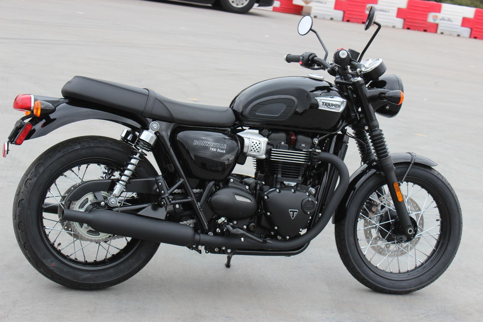 2019 Triumph Bonneville T100 Black For Sale In Scottsdale Az Go