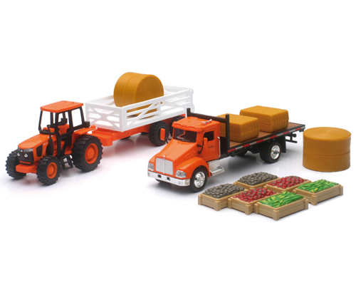 Request Kubota Farm Tractor Play Set